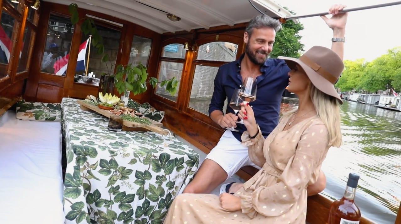 Romantiek Salonboot Delphine